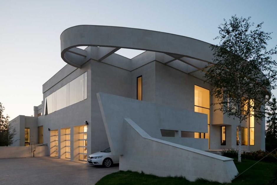 Una casa situada cerca de Moscú lleva el lujo a nuevos extremos 3