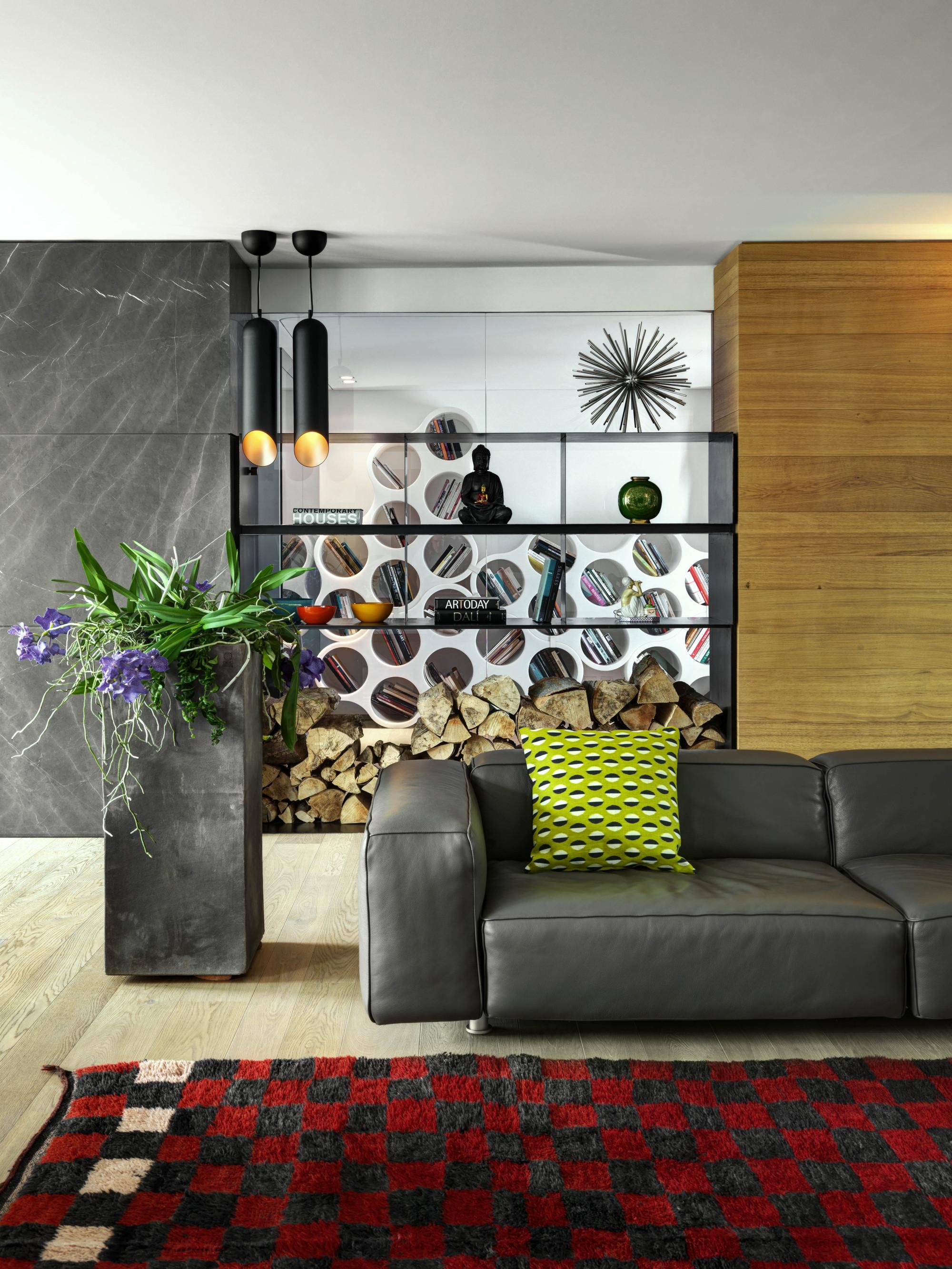 Urbanización de lujo con una fachada hecha de cubos de cristal 15