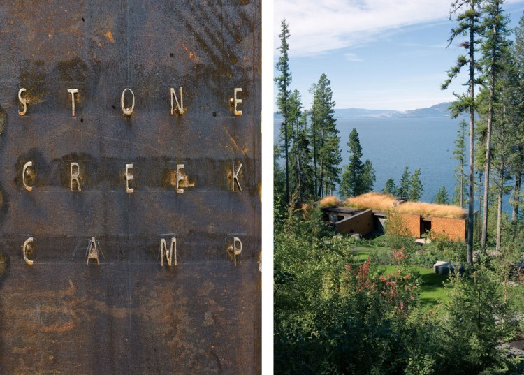 casa de campo roca y madera 1