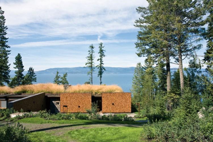 casa de campo roca y madera 2