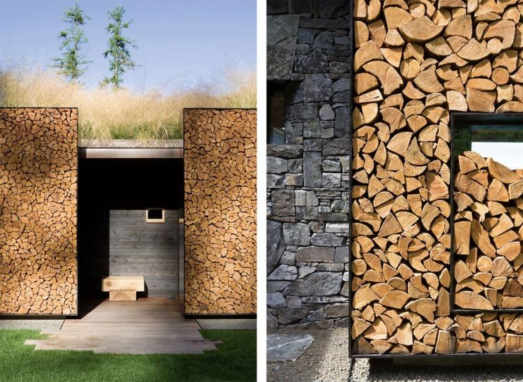 casa de campo roca y madera 6
