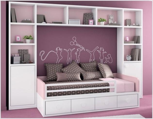 17 trucos para sacar m s partido a tu peque o dormitorio for Dormitorios minimalistas pequenos