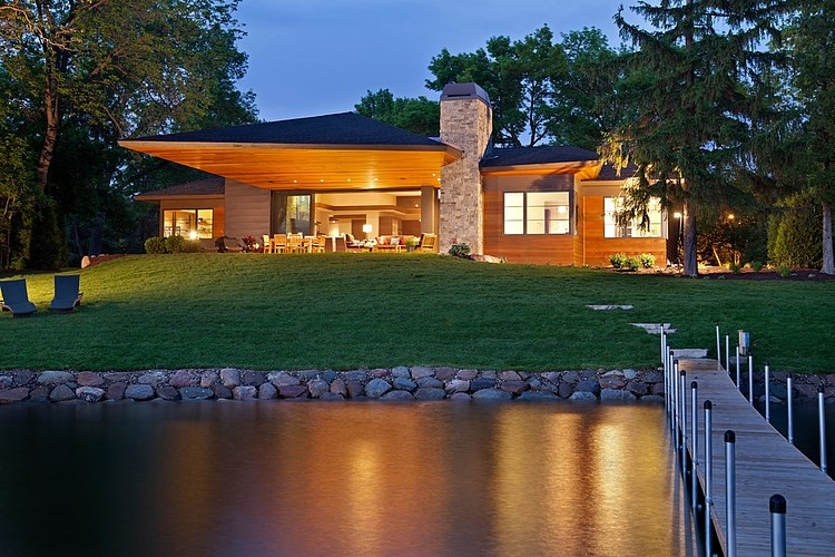 Carismática residencia con impresionantes vistas al lago Minnetonka 2