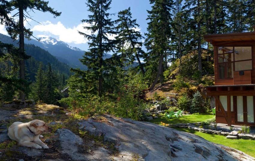 Chalet ubicado en las montañas con aura chic 20