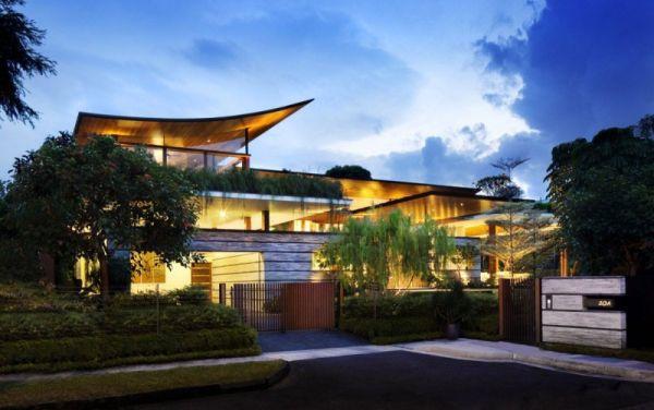 La Casa Willow, una mezcla entre la arquitectura y la naturaleza 1