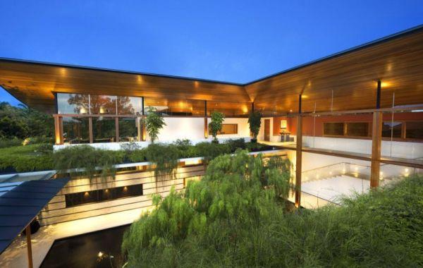 La Casa Willow, una mezcla entre la arquitectura y la naturaleza 11