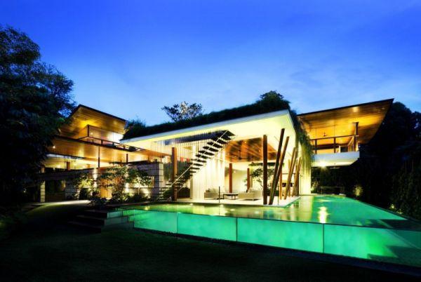 La Casa Willow, una mezcla entre la arquitectura y la naturaleza 2