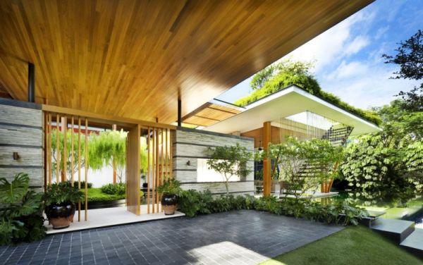 La Casa Willow, una mezcla entre la arquitectura y la naturaleza 3