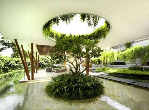 La Casa Willow, una mezcla entre la arquitectura y la naturaleza 6