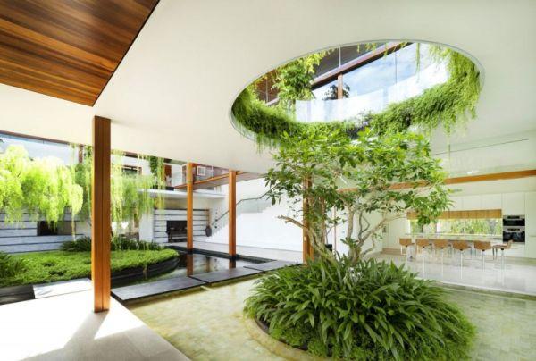 La Casa Willow, una mezcla entre la arquitectura y la naturaleza 7