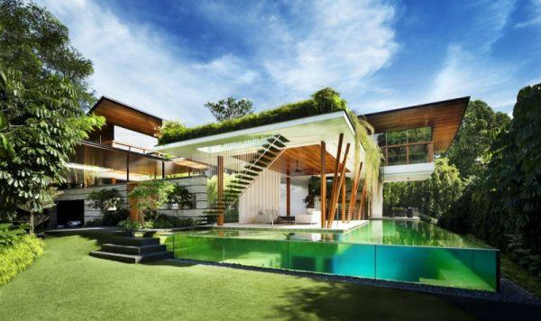 La Casa Willow, una mezcla entre la arquitectura y la naturaleza 9