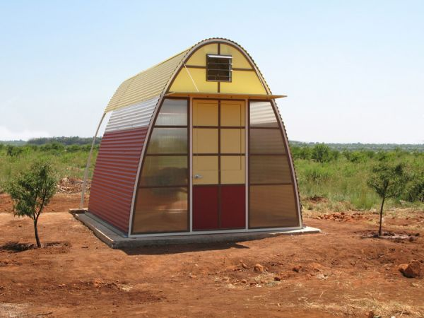 Un hogar sostenible que se puede construir en menos de un día 1