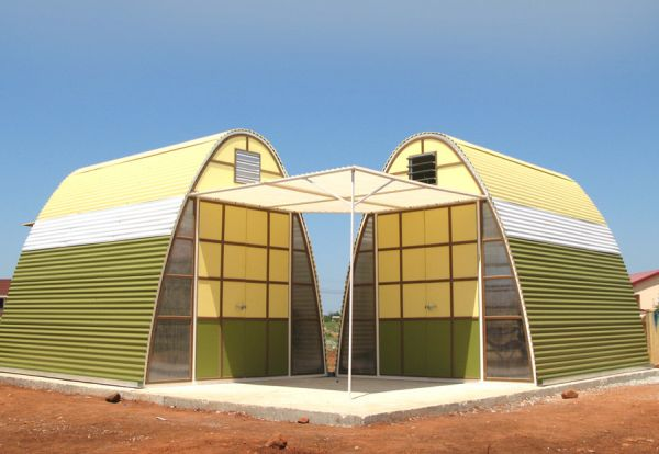 Un hogar sostenible que se puede construir en menos de un día 2