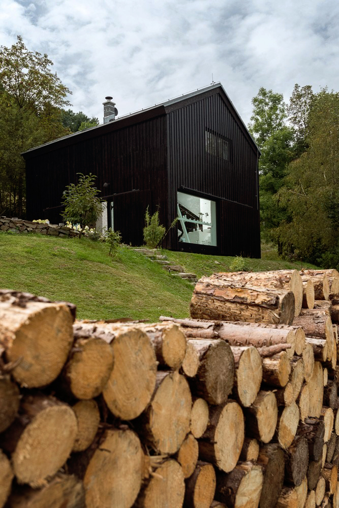 Un viejo granero reconstruido en un hogar de estilo escandinavo 1