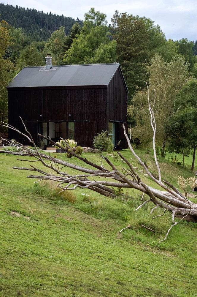 Un viejo granero reconstruido en un hogar de estilo escandinavo 2