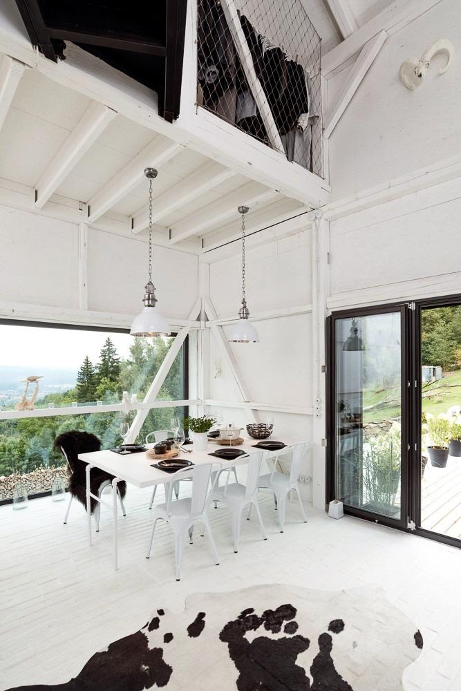 Un viejo granero reconstruido en un hogar de estilo escandinavo 7