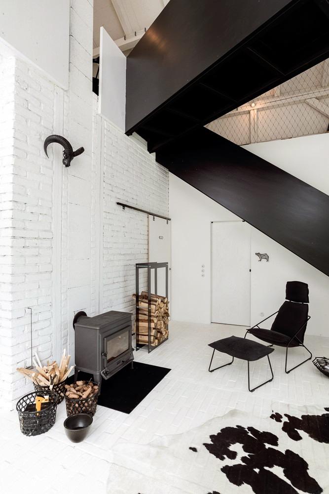 Un viejo granero reconstruido en un hogar de estilo escandinavo 9