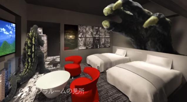 Abren en Japón un hotel dedicado a Godzilla 5