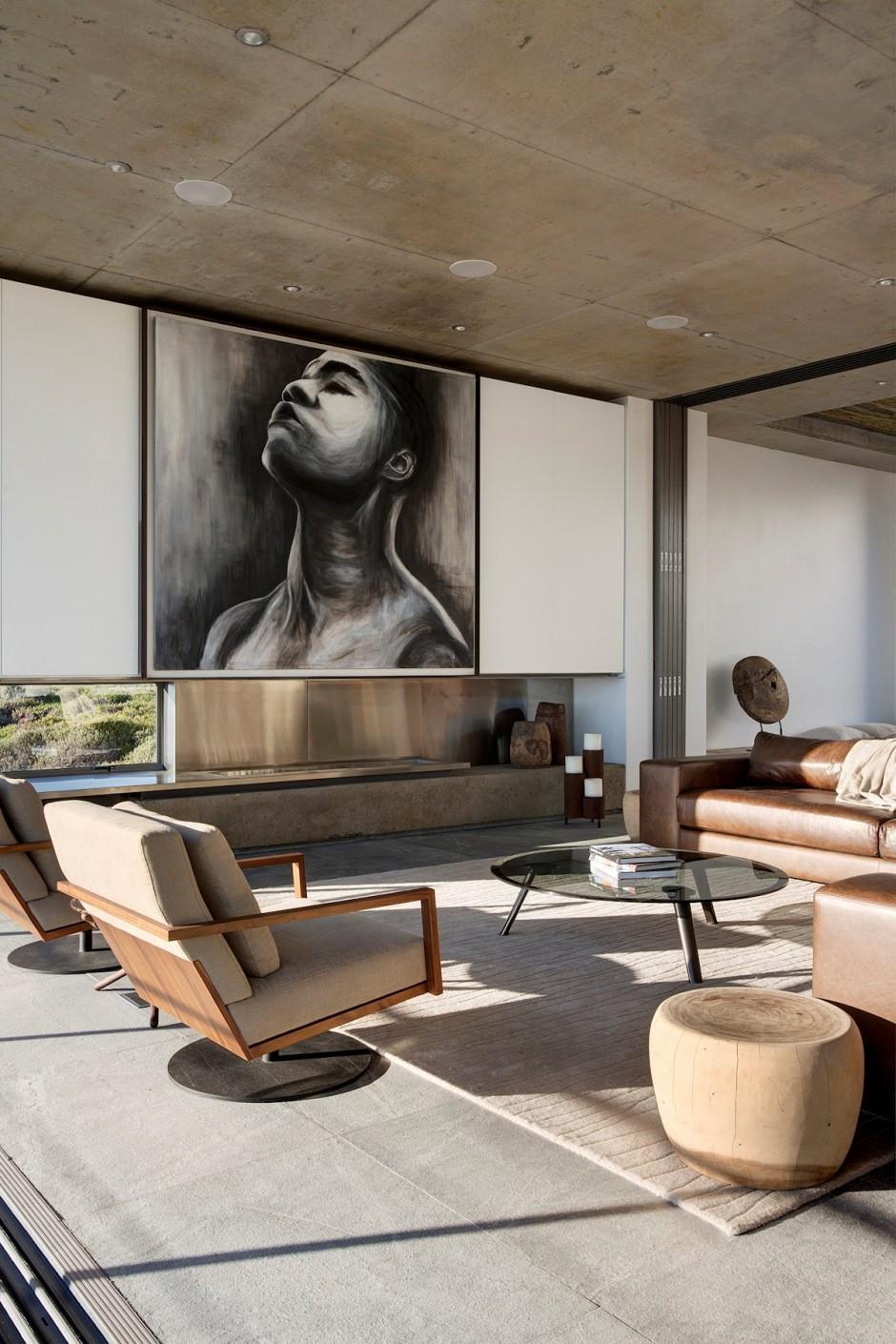 Apartamento de verano que se fusiona con sus vistas gracias a su diseño geométrico 9