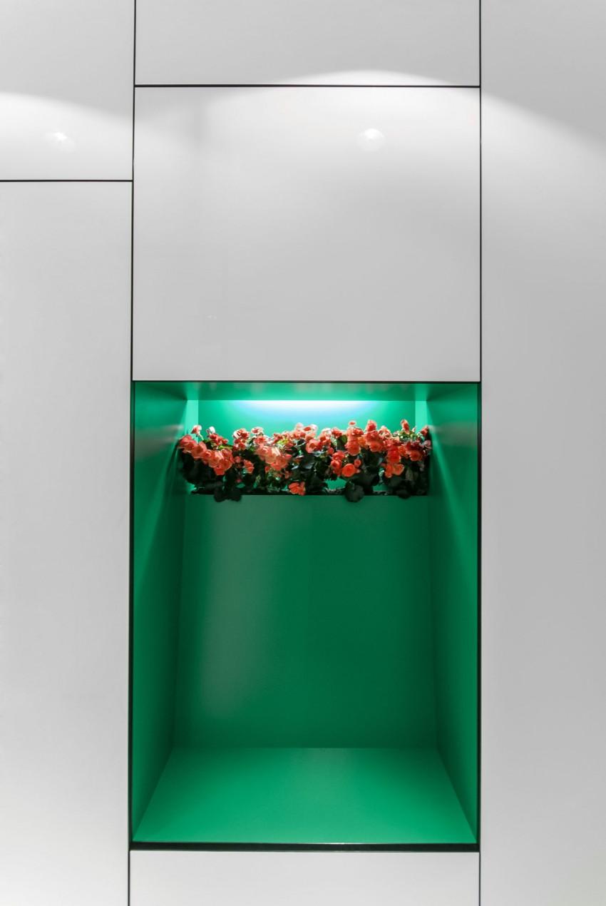 Apartamento minimalista con un diseño fresco y un ambiente acogedor 11