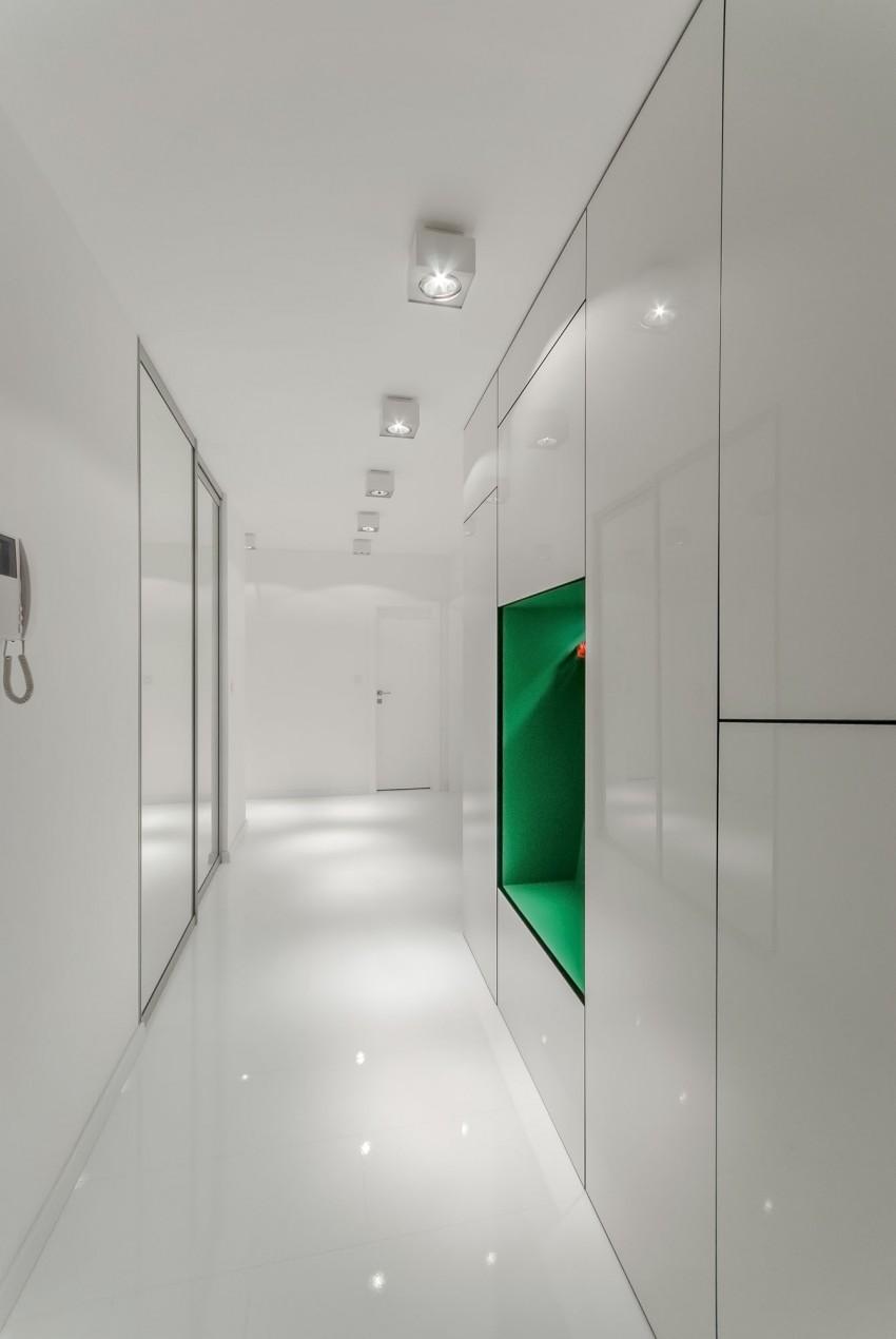 Apartamento minimalista con un diseño fresco y un ambiente acogedor 12