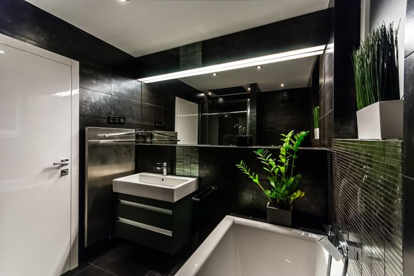 Apartamento minimalista con un diseño fresco y un ambiente acogedor 13