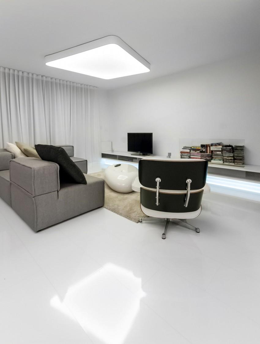 Apartamento minimalista con un diseño fresco y un ambiente acogedor 3
