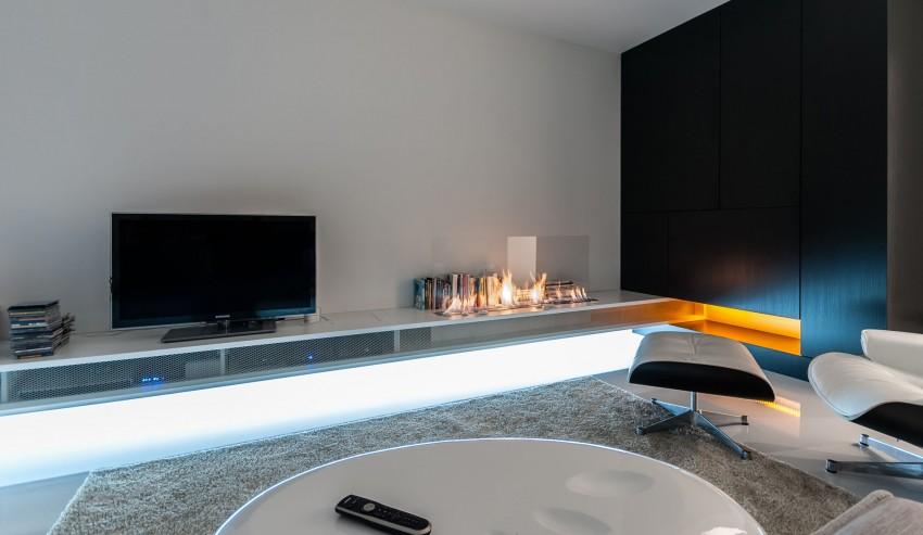 Apartamento minimalista con un diseño fresco y un ambiente acogedor 5