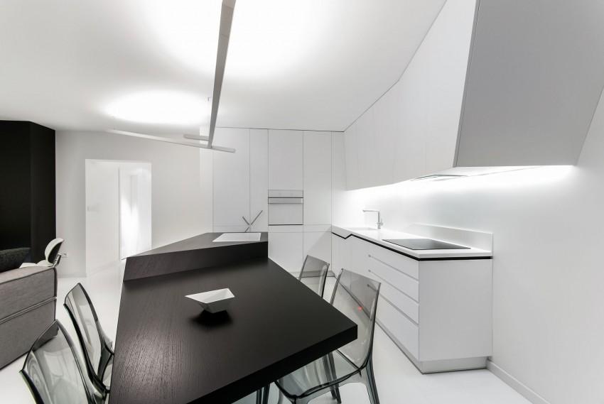 Apartamento minimalista con un diseño fresco y un ambiente acogedor 9