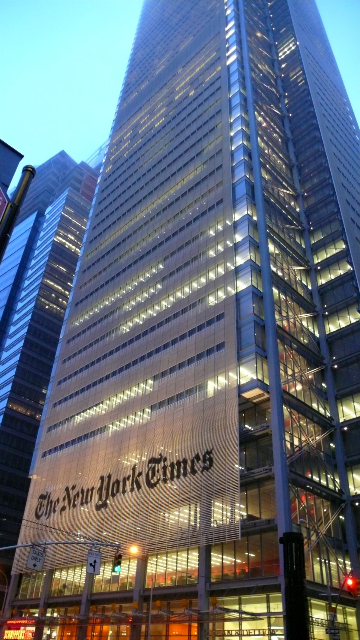 The New York Times Building, obra de Renzo Piano