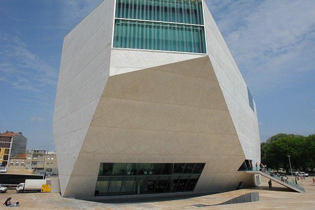 Casa da musica, obra de Rem Koolhaas