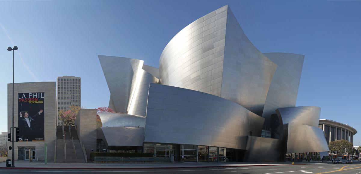 Walt Disney Concert Hall, obra de Fran Gehry