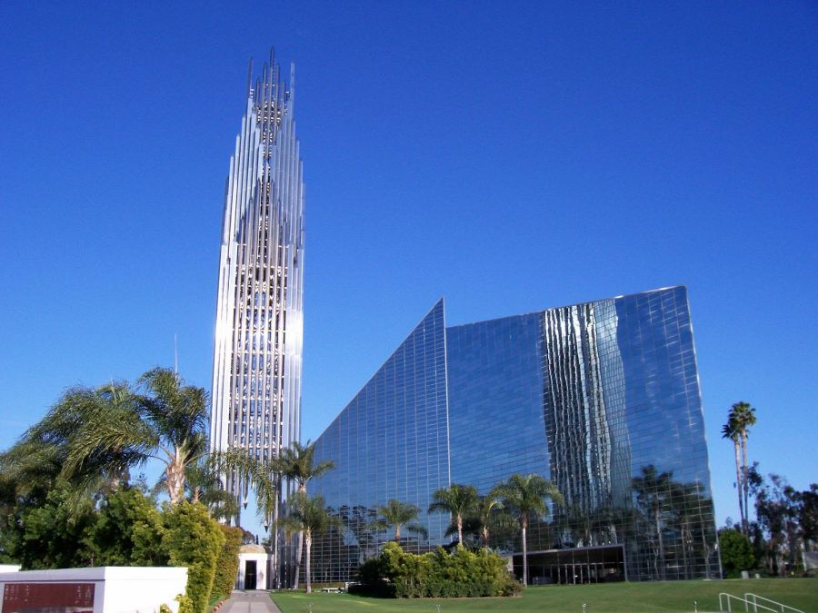 Catedral de cristal, obra de Philip Johnson