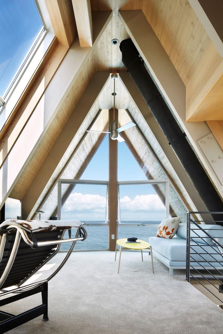 Esta casa de al lado de la playa reinventa el diseño irónico de los 60 12