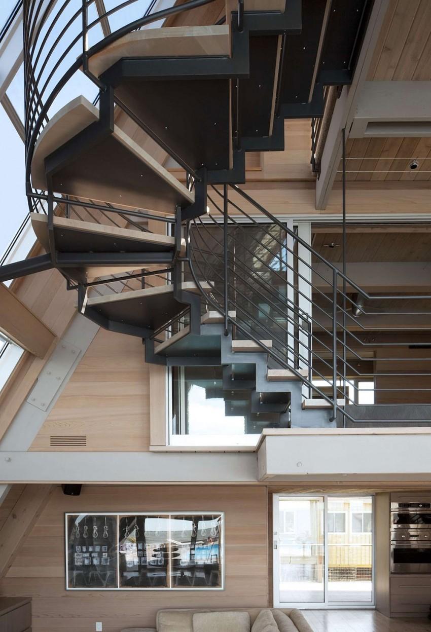 Esta casa de al lado de la playa reinventa el diseño irónico de los 60 5