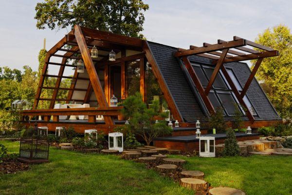 Esta eco-casa aprovecha toda la energia del entorno donde se encuentra 1