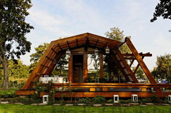 Esta eco-casa aprovecha toda la energia del entorno donde se encuentra 2