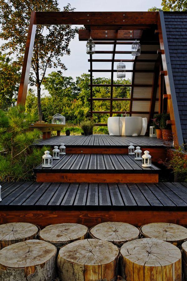 Esta eco-casa aprovecha toda la energia del entorno donde se encuentra 3