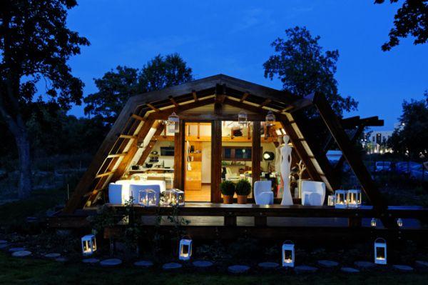 Esta eco-casa aprovecha toda la energia del entorno donde se encuentra 9
