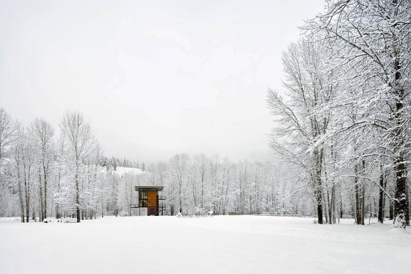 Esta estupenda cabaña en Washington tiene de todo para las excursiones a la montaña 2