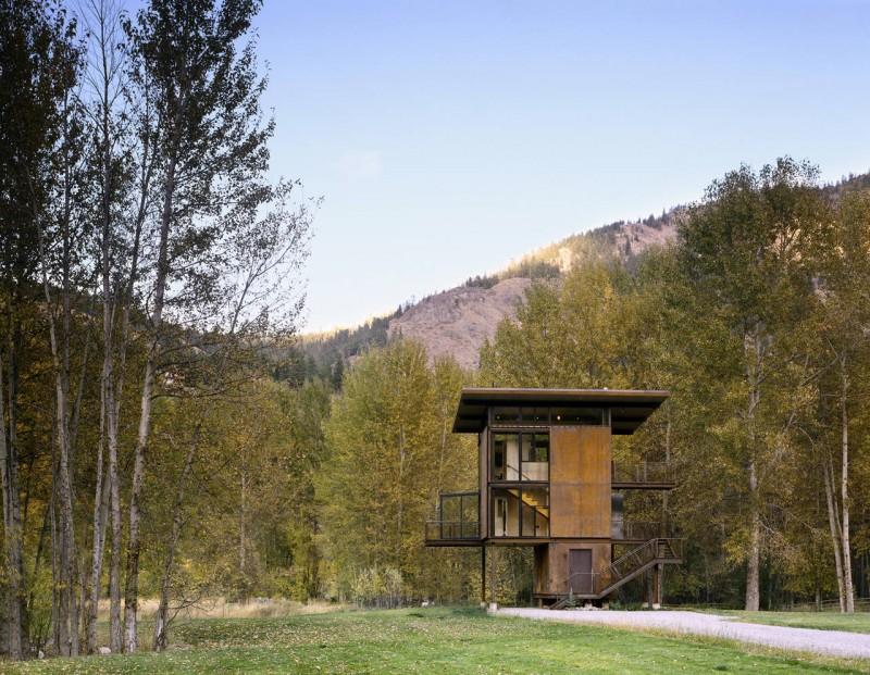 Esta estupenda cabaña en Washington tiene de todo para las excursiones a la montaña 3