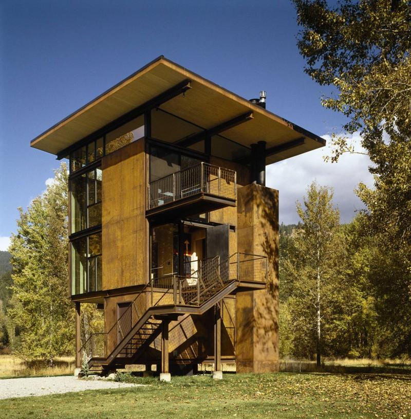 Esta estupenda cabaña en Washington tiene de todo para las excursiones a la montaña 4