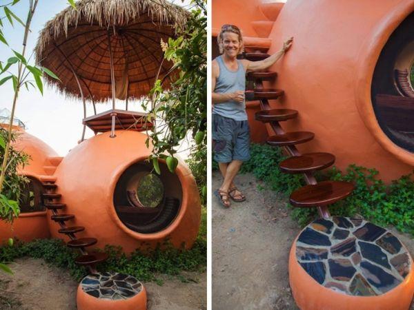 Esta fantástica casa de cuento se ha construido en tan solo 6 semanas en Tailandia 8