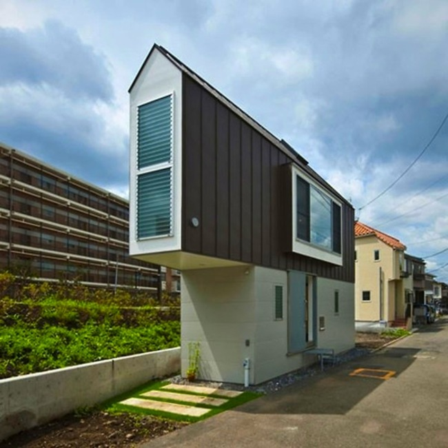 Esta pequeña casa triangular en realidad es una casa de ensueño 1