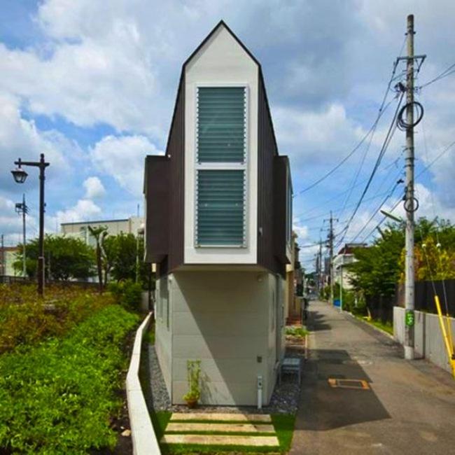 Esta pequeña casa triangular en realidad es una casa de ensueño 2