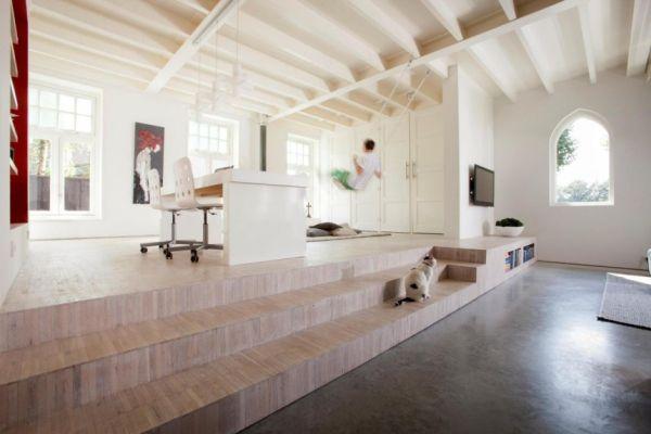 Histórica iglesia convertida en una casa privada en Holanda 10