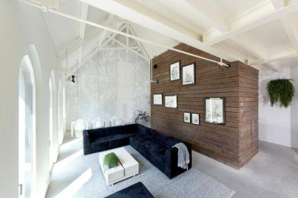 Histórica iglesia convertida en una casa privada en Holanda 6