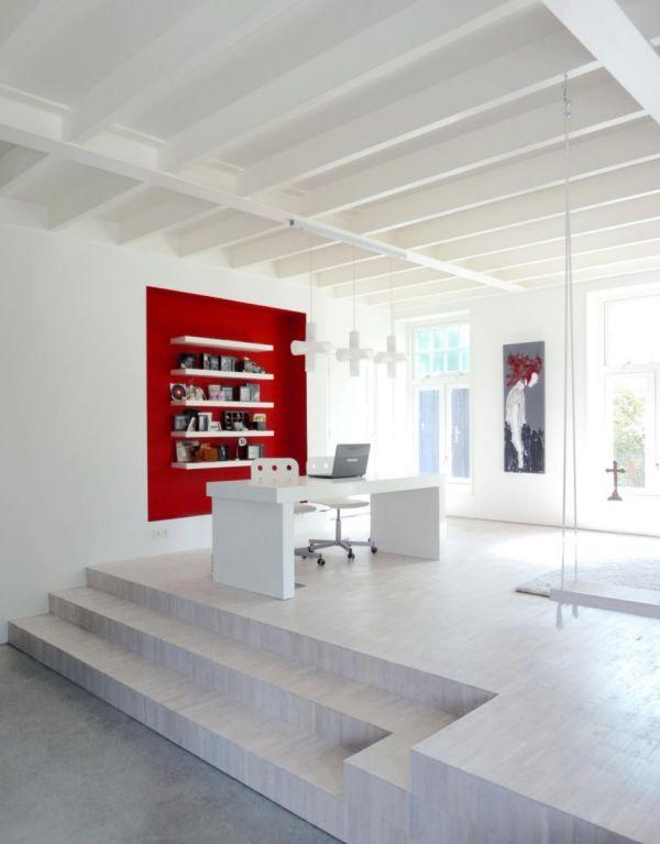 Histórica iglesia convertida en una casa privada en Holanda 8