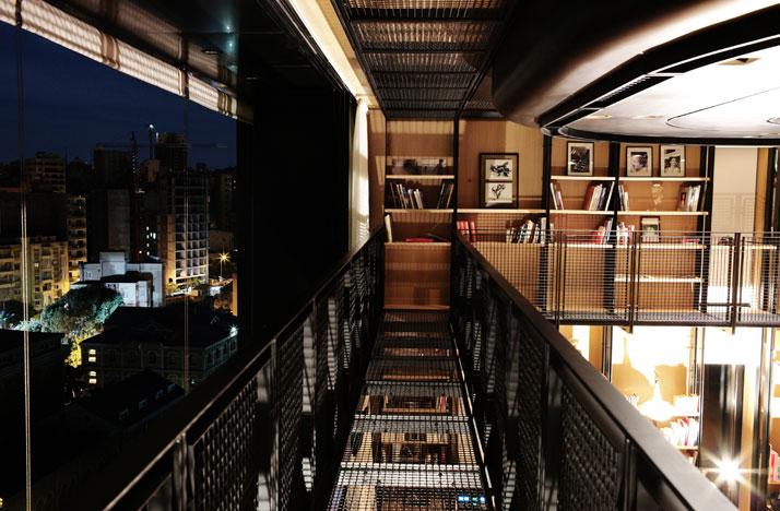 Residencia en Beirut construida sobre una estructura existente 10