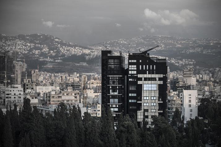 Residencia en Beirut construida sobre una estructura existente 2